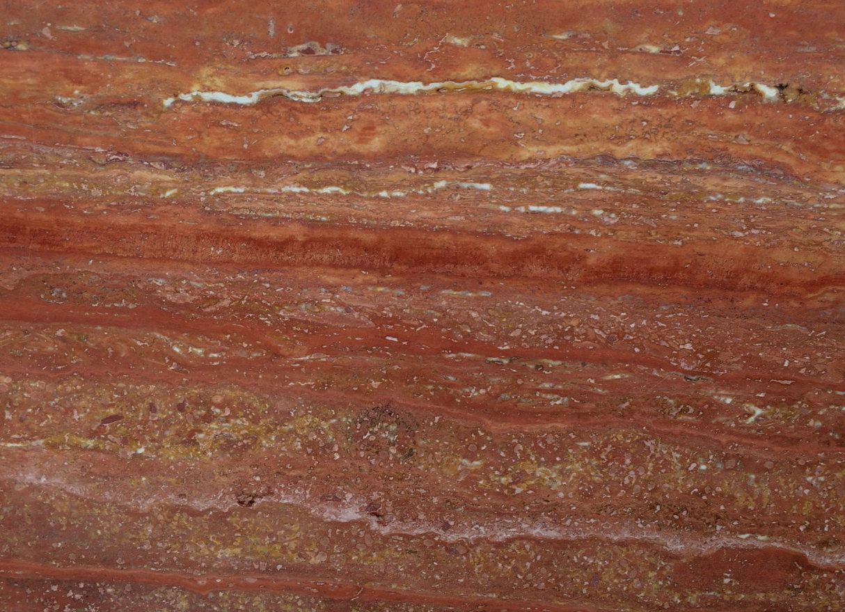 Persian Red Travertine European Granite Marble Group