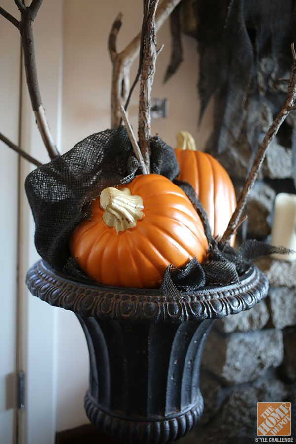 Urn Decor Alluring Halloween Decorations For The Mantel From Love Manor  The Home 2018