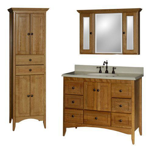 farmhouse basic bathroom vanity set at hayneedle | bathroom