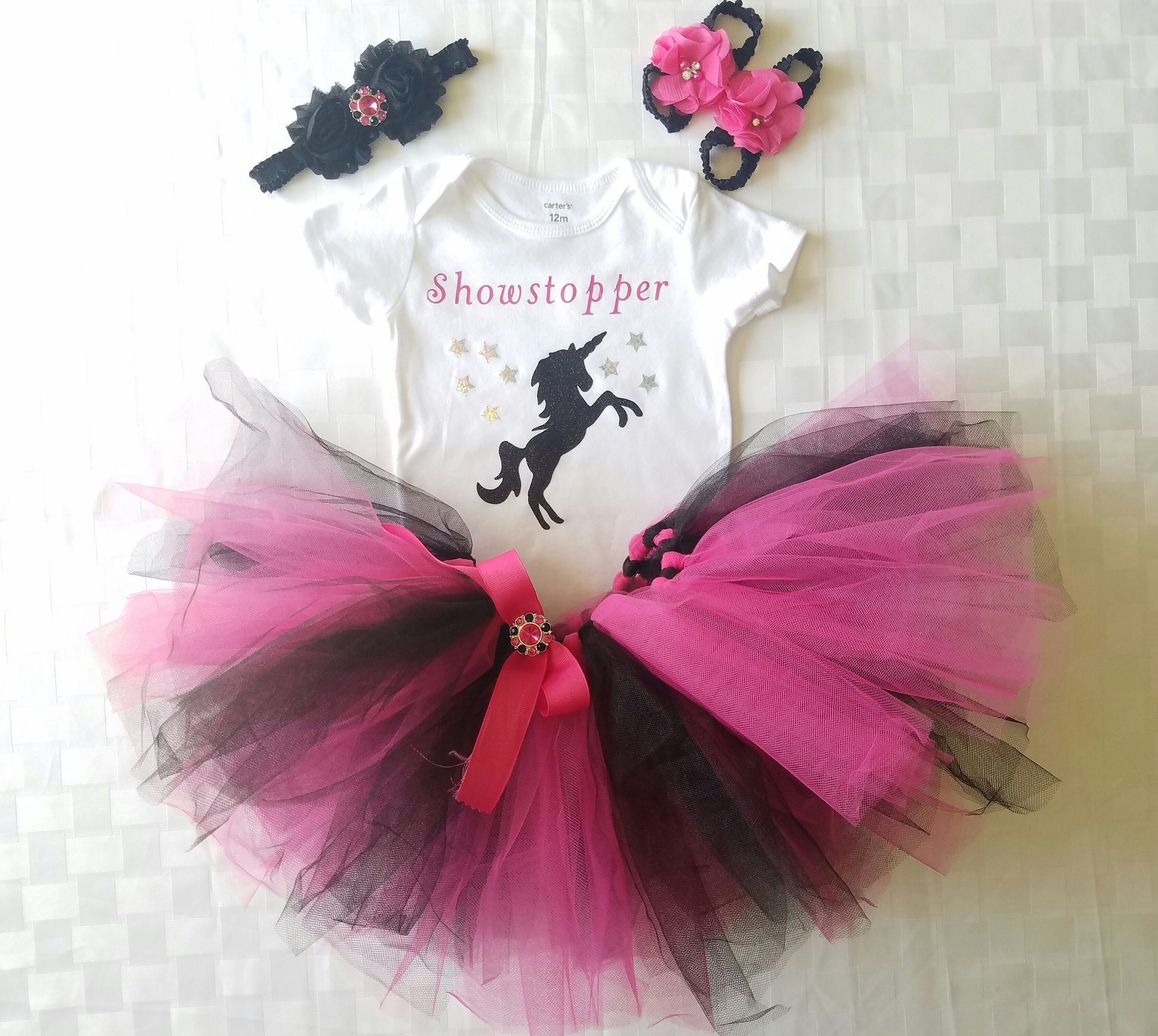 146f389f4b666 Showstopper Unicorn Tutu Outfit (Sizes Preemie - 24 Months) by  BetsysItsyEtsy on Etsy