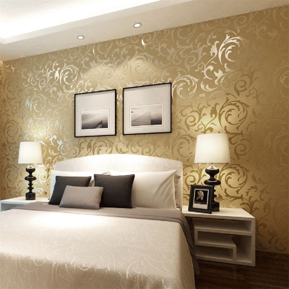 Wallpaper bedroom picture more detailed picture about for Images of 3d wallpaper for bedroom