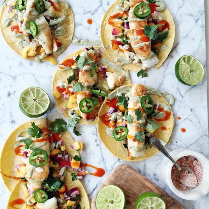 I love tacos, and really LOVE these fish tacos!