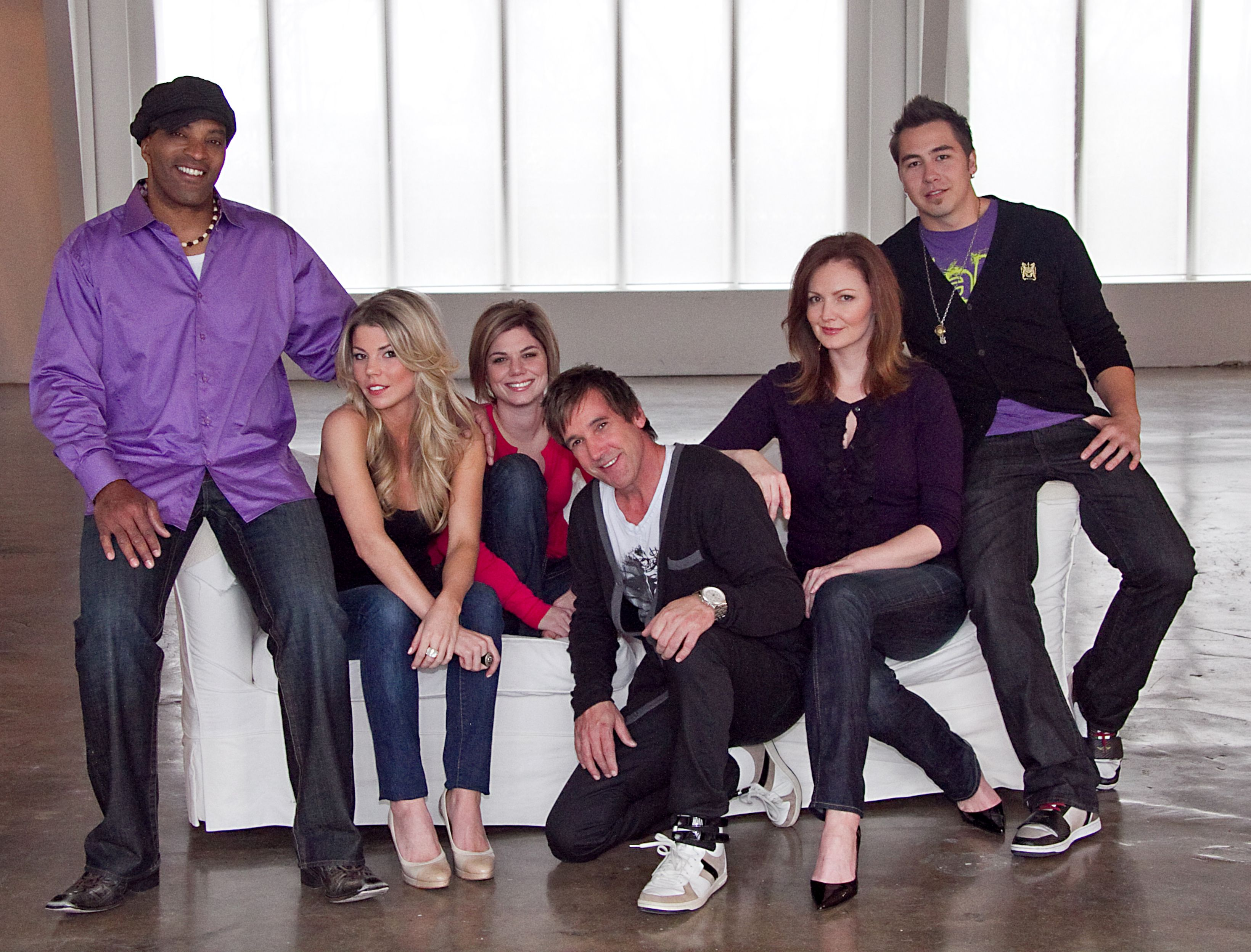 The entire cast of Kidd Kraddick in the Morning--- Kidd will