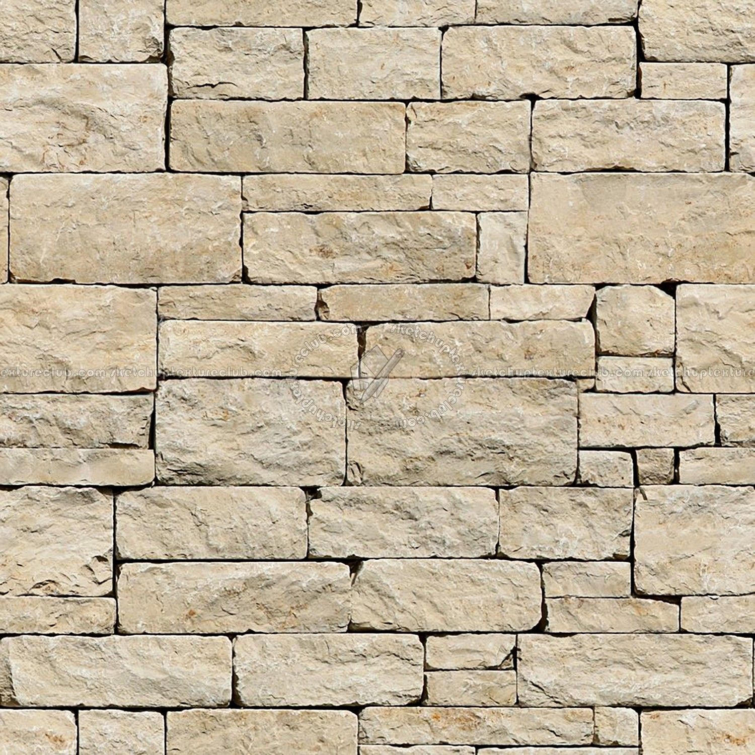 Wall Stone With Regular Blocks Texture Seamless 08328