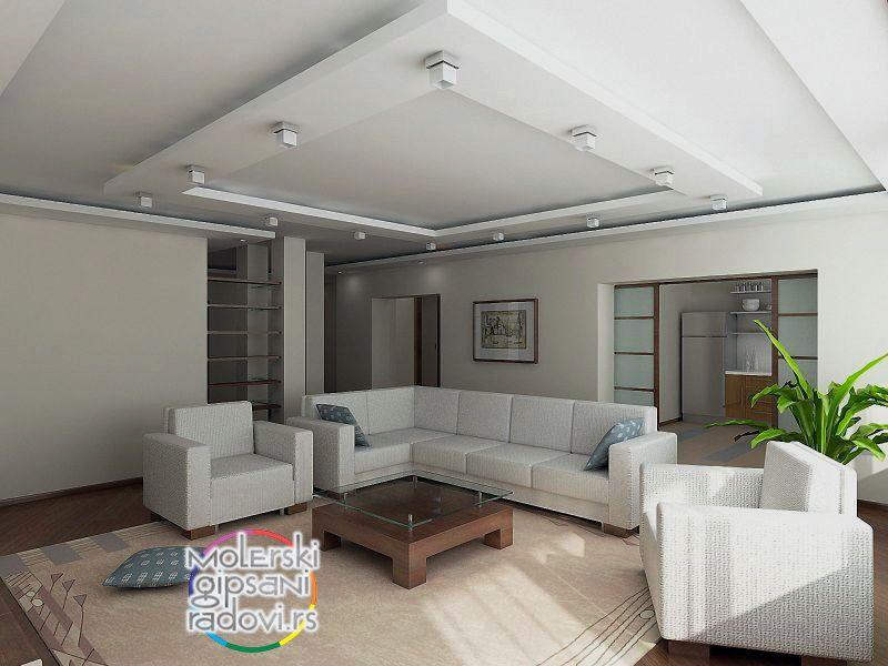 spu teni plafoni og gipsa molerski gipsani dekorativni radovi rigips i rasvjeta. Black Bedroom Furniture Sets. Home Design Ideas