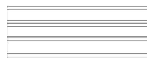 printable blank music sheets