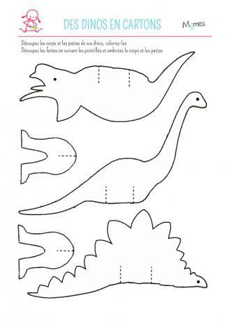 Dinos en papier #dinosaur