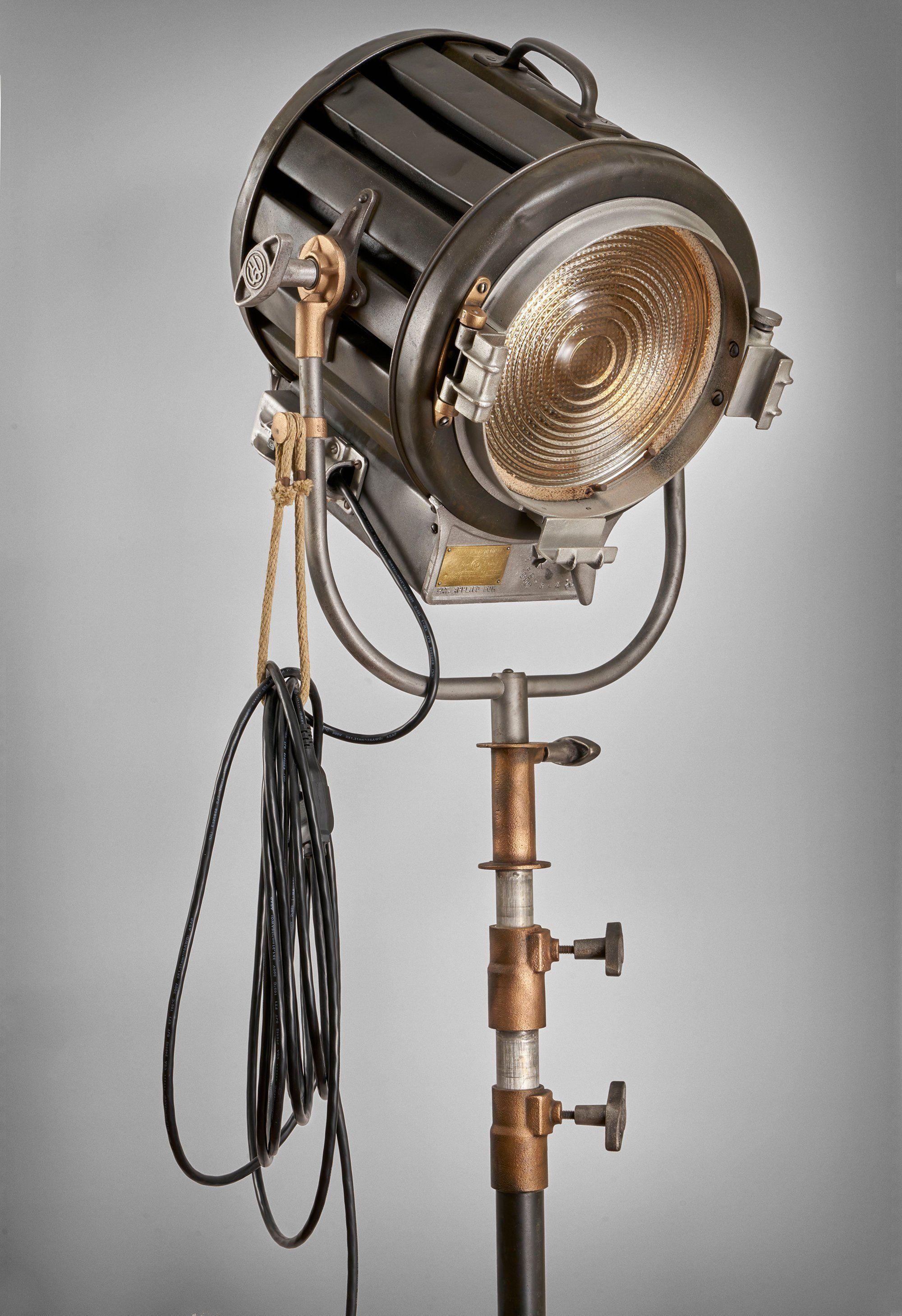 1940 S 410 2k Mole Richardson Vintage Hollywood Movie Etsy Vintage Industrial Lighting Diy Industrial Lighting Industrial Light Fixtures