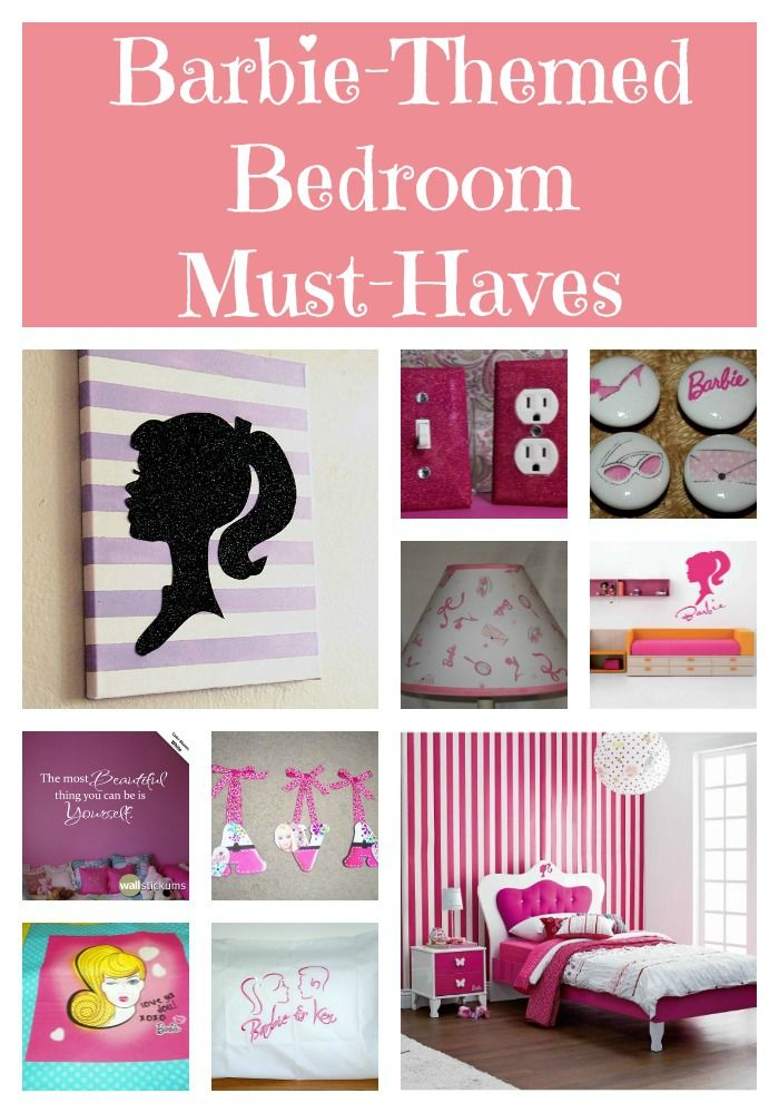 10 Amazing Products For Your Child S Barbie Theme Bedroom Barbie