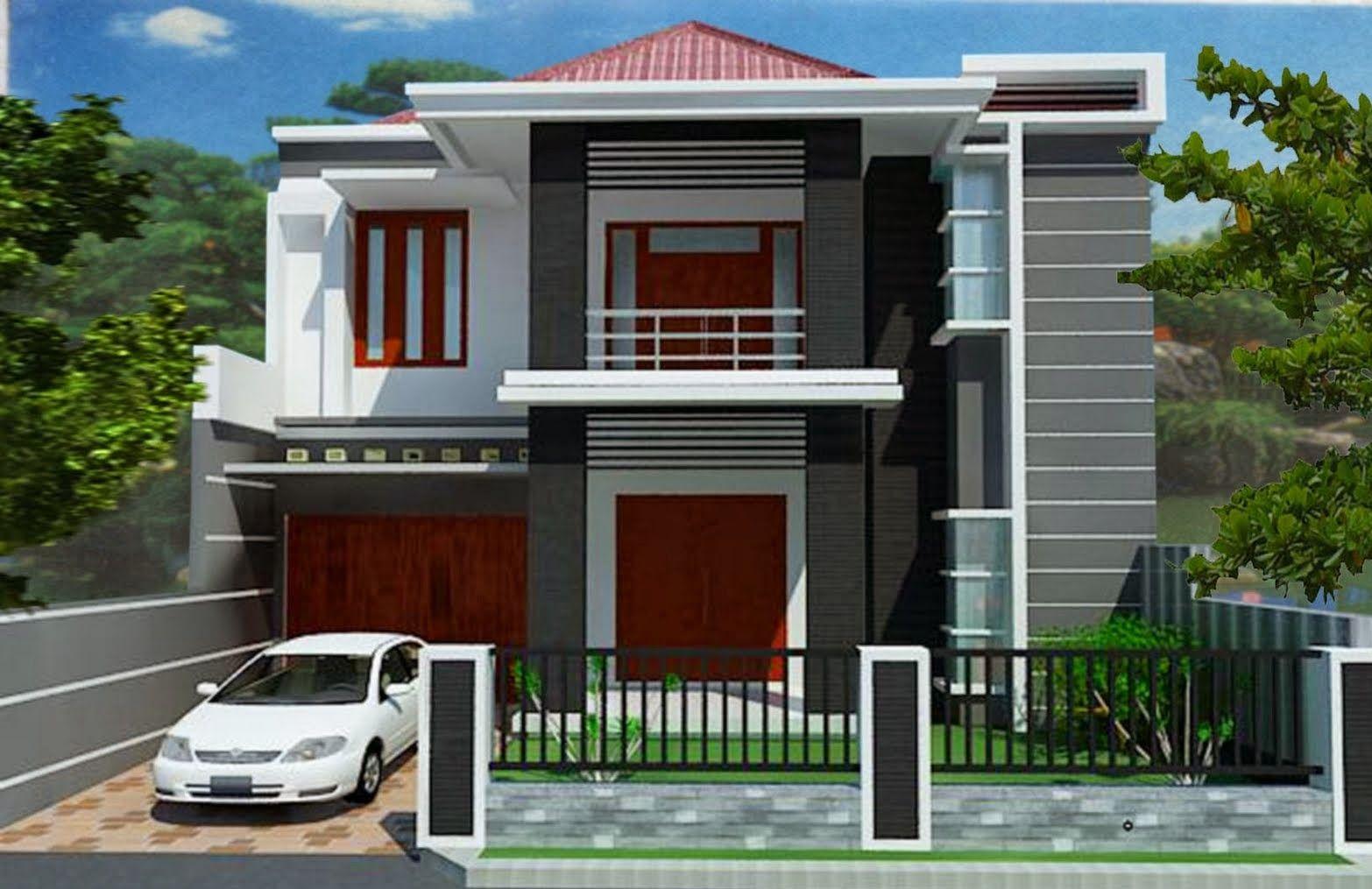 Wonderful Minimalist Design House 2nd Floor | Desain Rumah Minimalis 2 Lantai