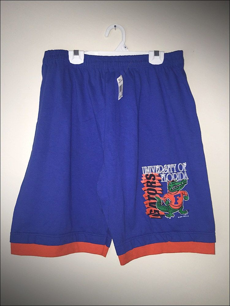 Vintage 90's NCAA University of Florida Gators Shorts - Size XL ...