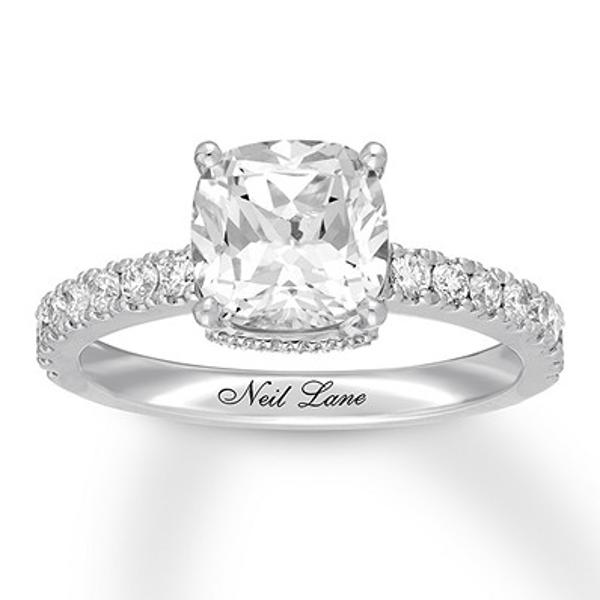 Neil Lane Diamond Engagement Ring 2 1 3 Carats Tw 14k Gold Neil Lane Engagement Rings Diamond Wedding Rings Engagement Rings Sale