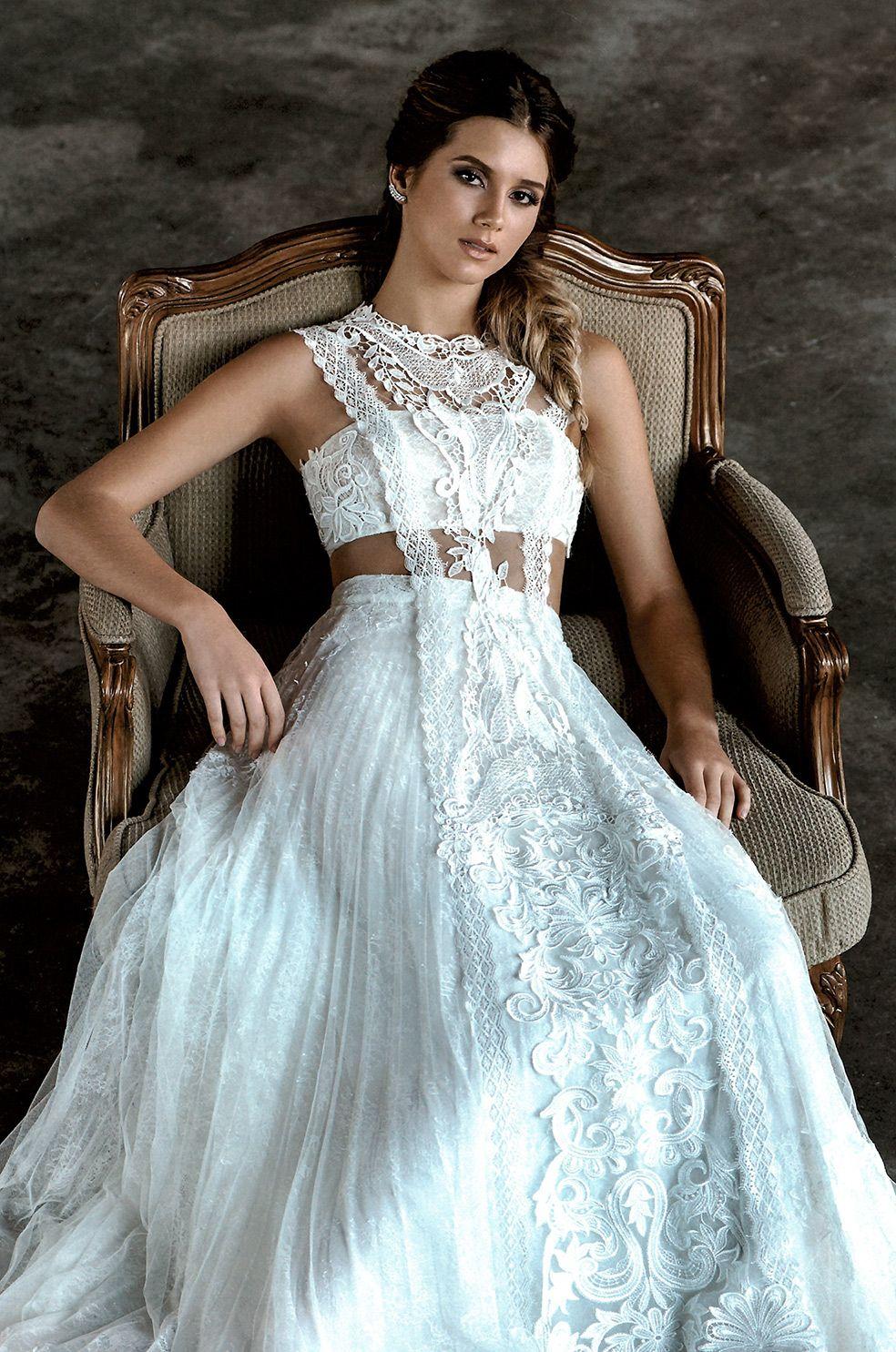 ATOCHA #weddingdress featured in @constancezahn #YolanCris #bride ...