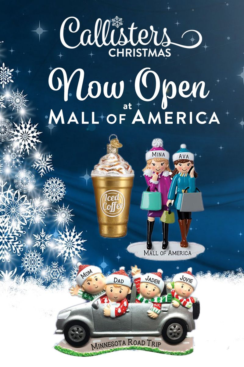 Callisters Christmas Store Open At Mall Of America In 2020 Christmas Store Little Christmas Personalized Christmas Gifts