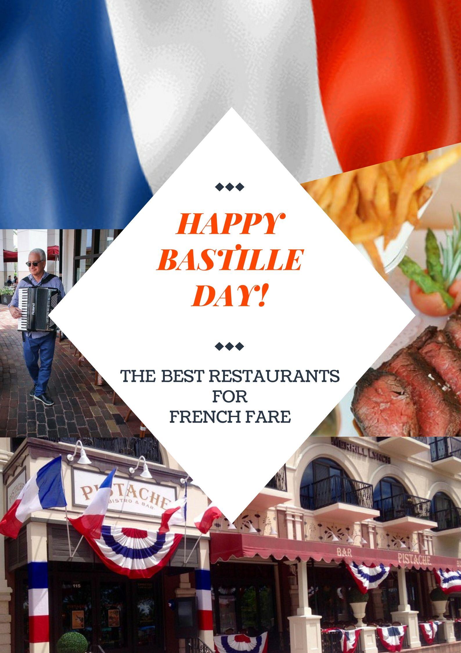 Bastille Day Best restaurants in Palm Beach County to
