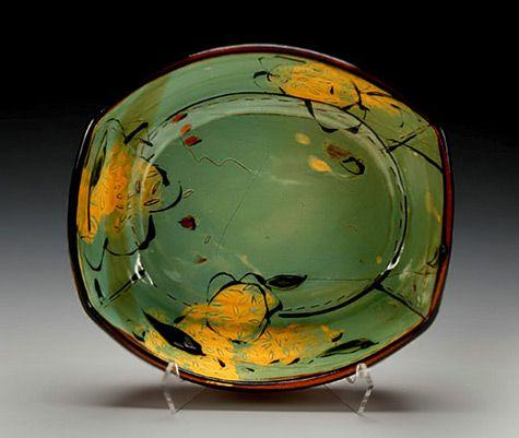 Schaller-Gallery-Victoria Christen-475x401 Victoria Christen – large oval dish Schaller Gallery