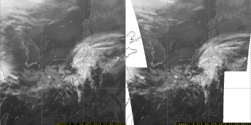 New geostationary meteorological satellites Himawari-8/9 (gif)