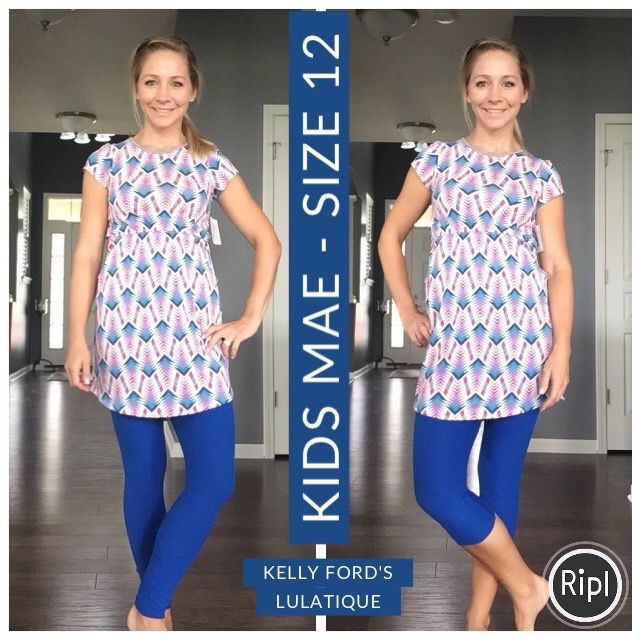 faefb7588e5 LuLaRoe Mae (kids romper) with leggings. Love the Mae