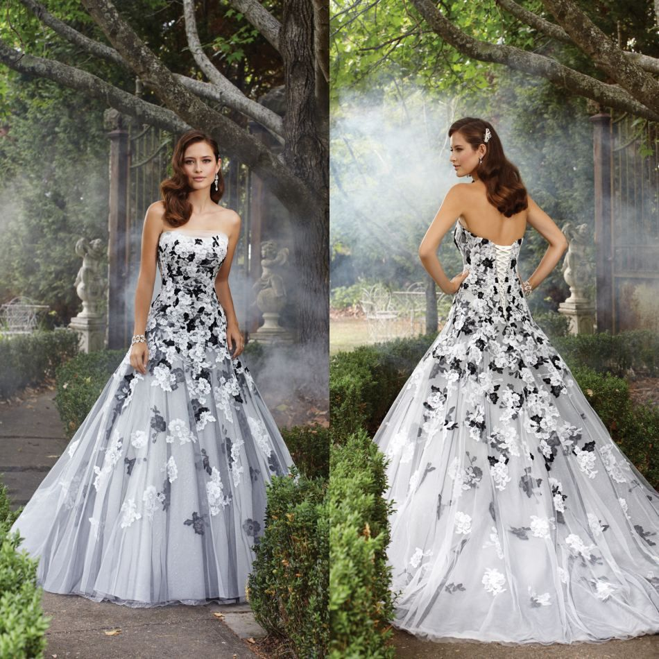 Aliexpress buy new arrival sweetheart drop waist spaghetti wholesale 2014 evening gowns buy 2014 hot black white appliques lace up sexy evening celebrity wedding gowns party prom pageant dresses ombrellifo Choice Image