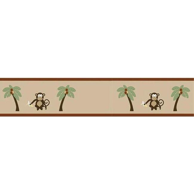 Monkey Wallpaper Border By Sweet Jojo Designs