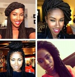 If only I could get box braids without damaging my hair...