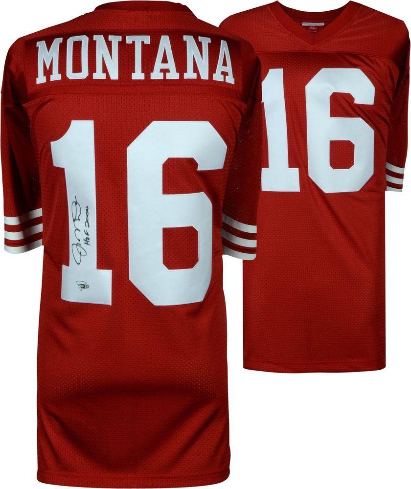 new concept 4f5b5 9d66d Autographed Joe Montana 49ers Jersey Fanatics Authentic COA ...