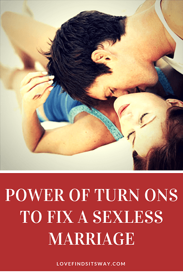 How to improve a sexless marriage