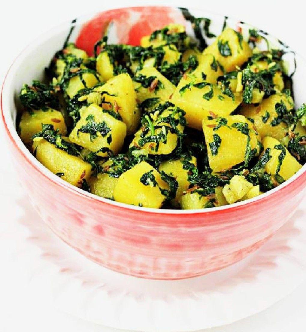 Aloo Methi in 2020 Aloo methi, Punjabi cuisine, Health food