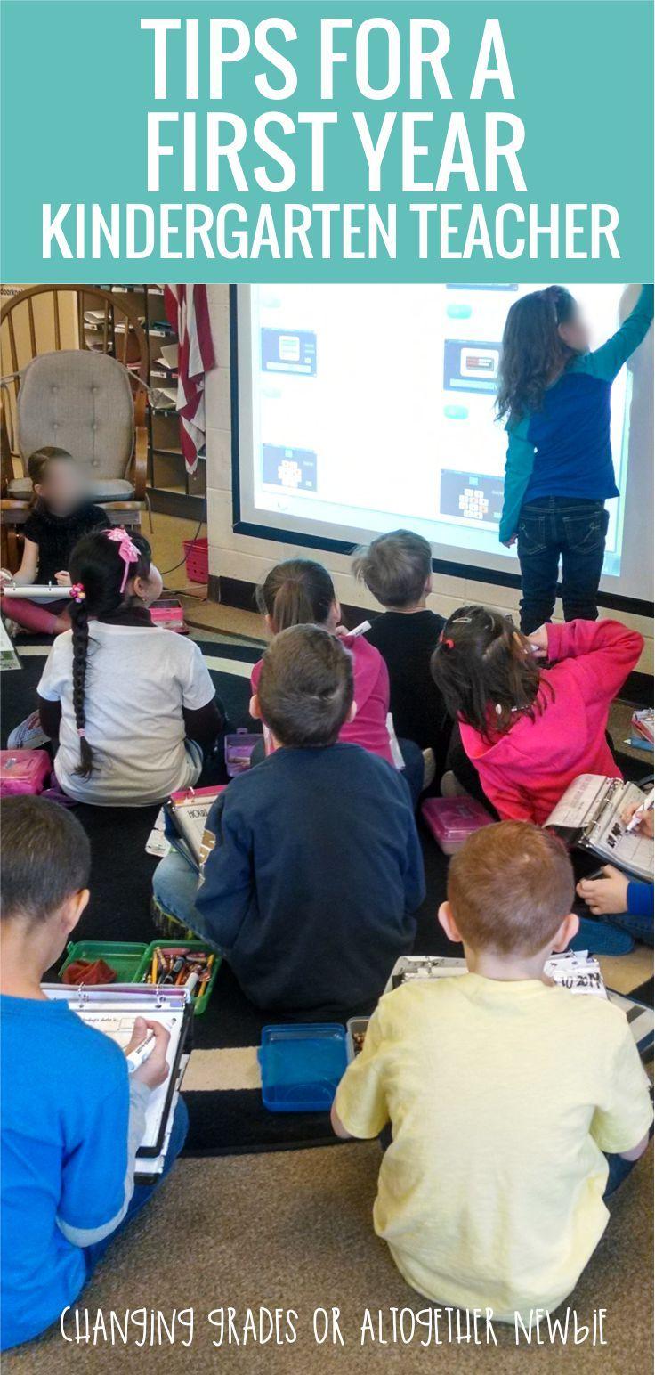 Tips For A First Year Kindergarten Teacher Kindergarten