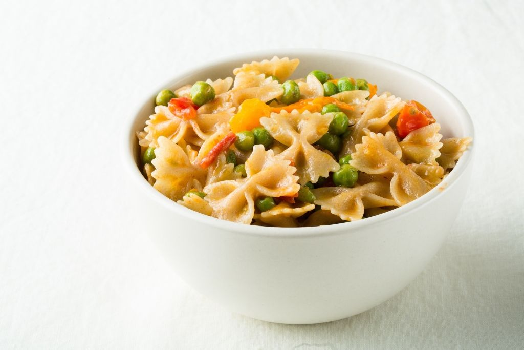 Gluten Free Italian Stir Fried Farfalle Pasta Healthy Pasta