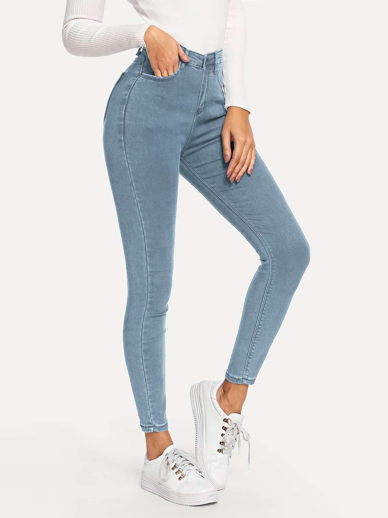 Vaqueros Tobilleros Ajustados No Te Pierdas Estos Vaqueros Tobilleros Ajustados Pantalones De Moda Pantalones Jeans De Moda Pantalones De Mezclilla Mujer