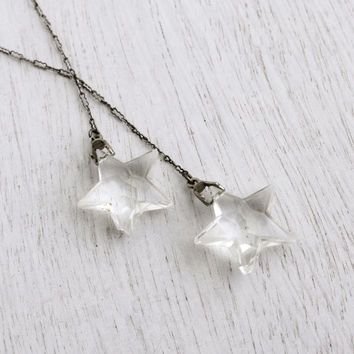 1920s Star necklace