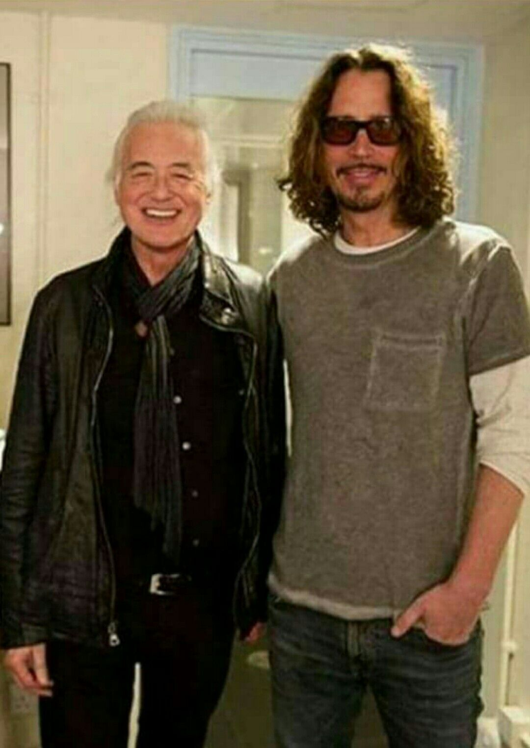 A visit with Jimmy Page in 2019 Chris cornell, Rock