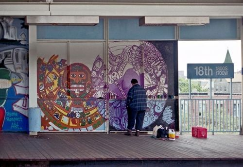 Pilsen artist lives on in his murals pilsen portal 18th for 18th street mural