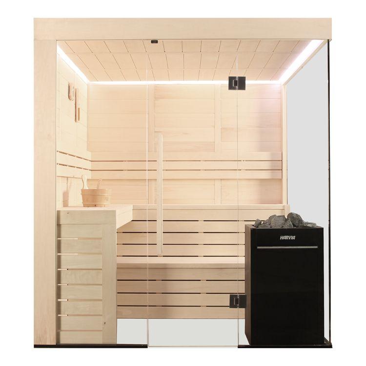 Eo Spa Sauna E1205c Pelholz 207x168 9kw Vitra