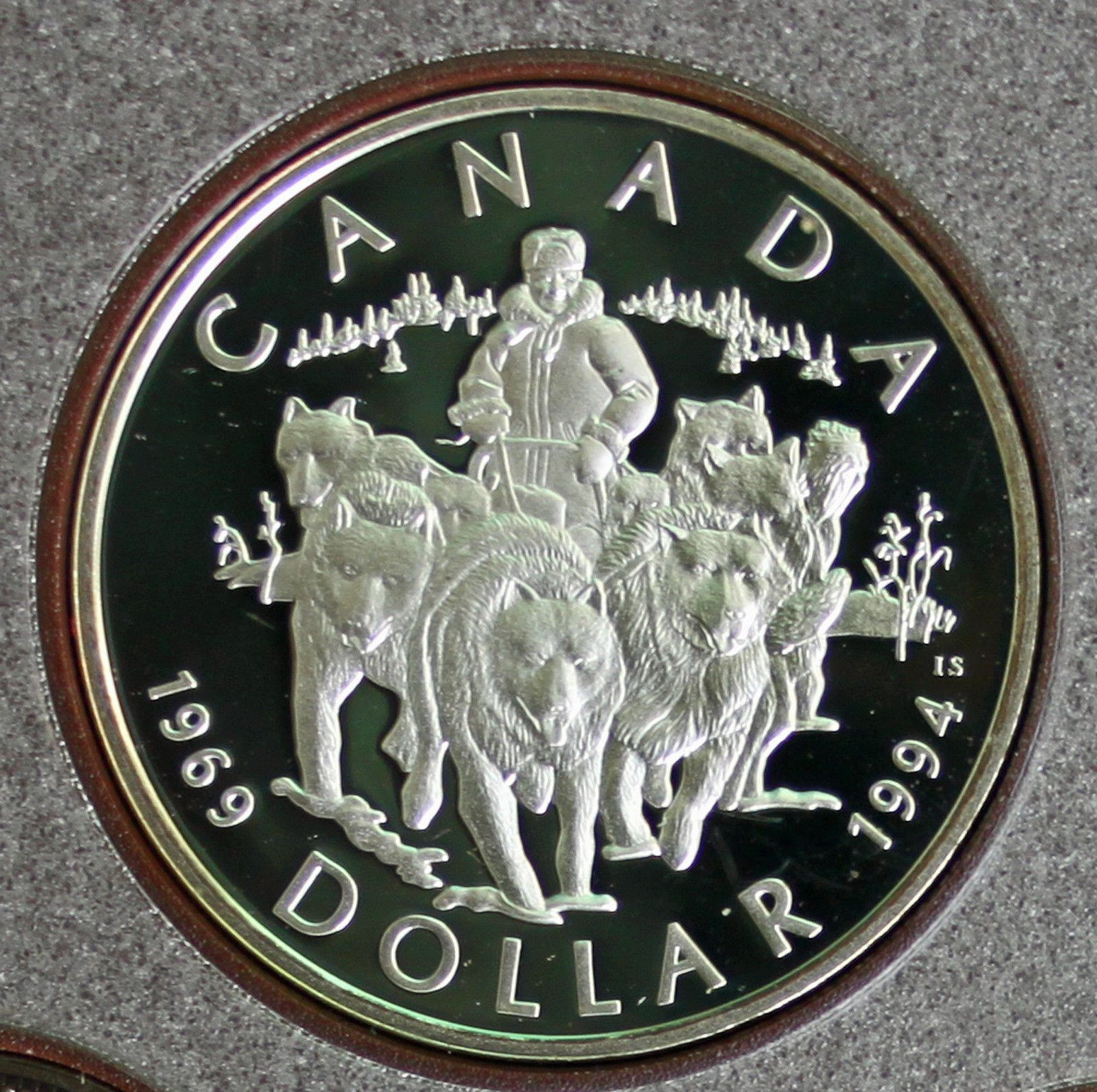 1994 Canadian Double Dollar Set Red Edition
