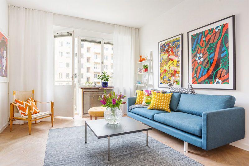Apartamento Pequeno Com Decoracao Toda Colorida Com Imagens