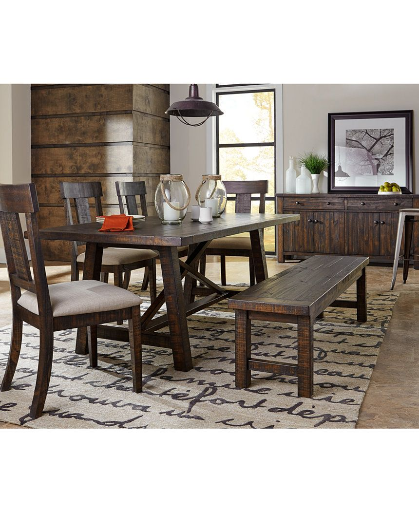Ember Dining Table Dining Room Tables Furniture Macy S Living Room Sets Furniture Dining Room Furniture Sets Dining Room Furniture Collections