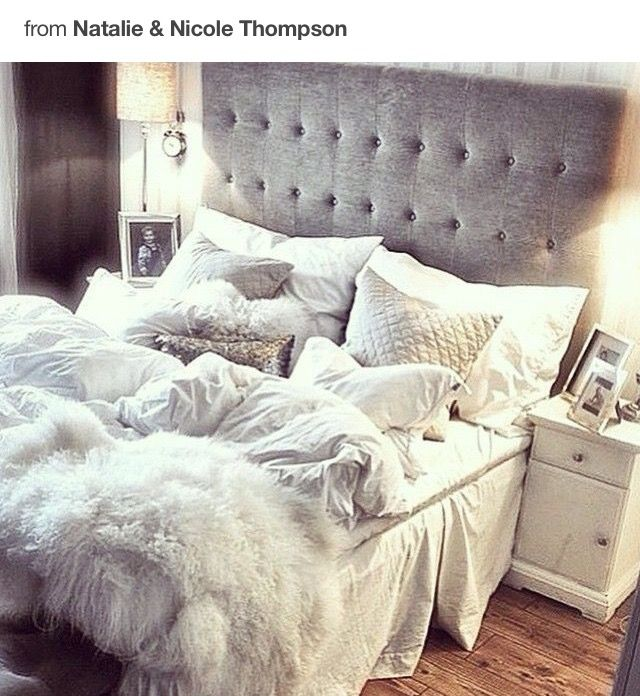 I just really like the blankets and pillows