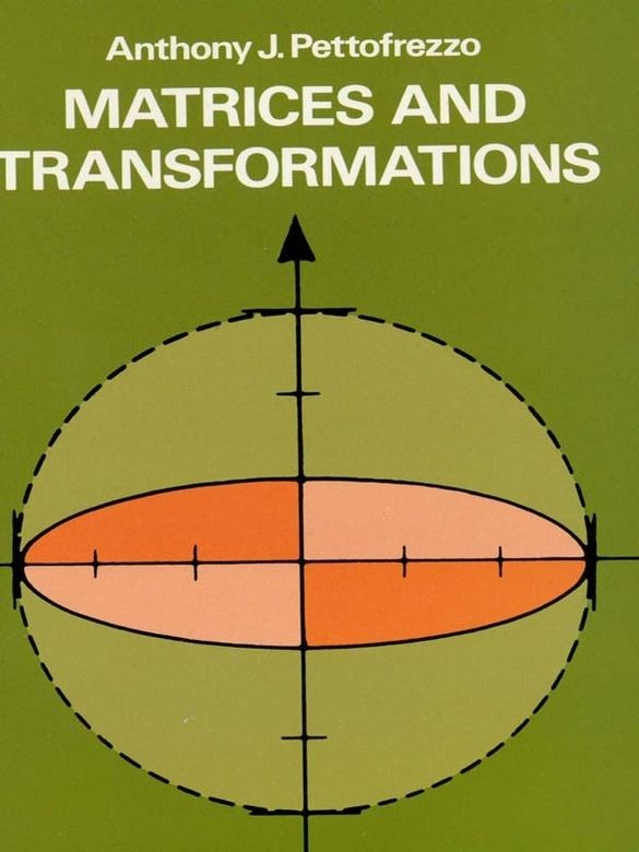Matrices And Transformations Mathematics Math Books border=