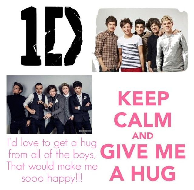 """Keep Calm and Give Me A Hug"" by love-giselle on Polyvore"
