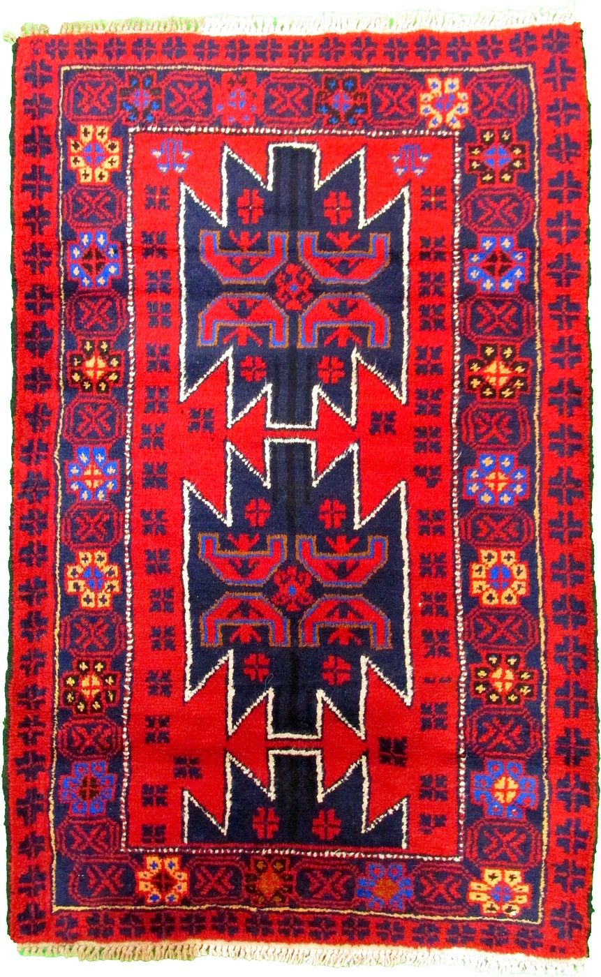 3 0 X 4 9 Red Balouch Area Rugs Rugs Inexpensive Rugs