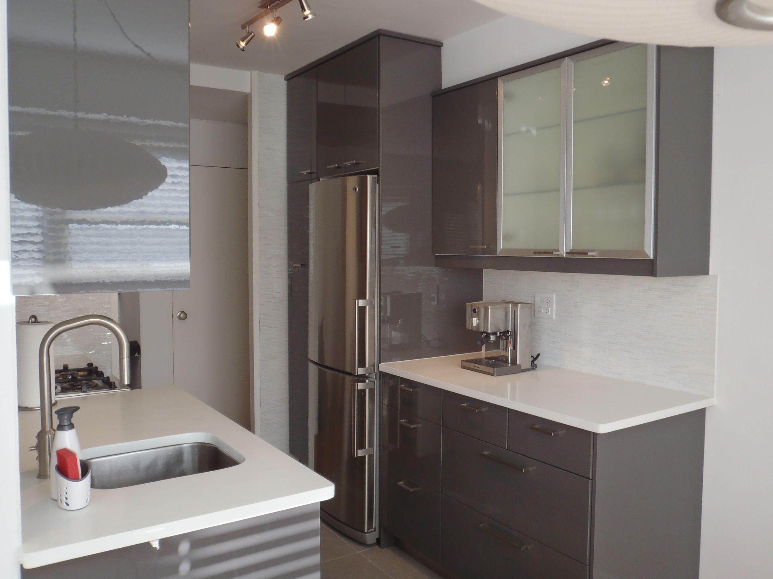 Furniture Kitchen. Calmly Gray Kitchen