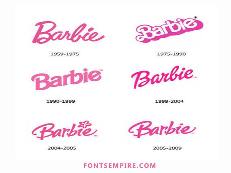 Barbie Font Free Download Fonts Empire Barbie Tattoo Barbie Logo Barbie Birthday