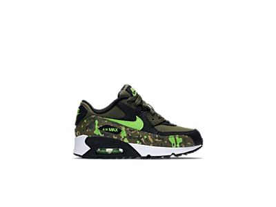 boys' preschool nike air max 90 premium leather running shoes