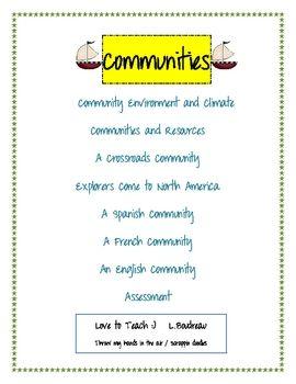 Communities Packet