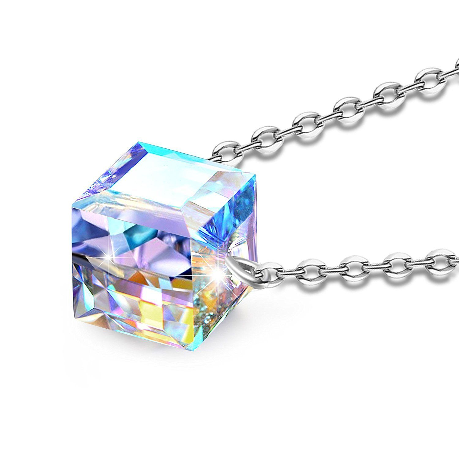 """Magic Cube""""Square Pendant Necklace Angelady Jewelry Gifts,Made ..."""