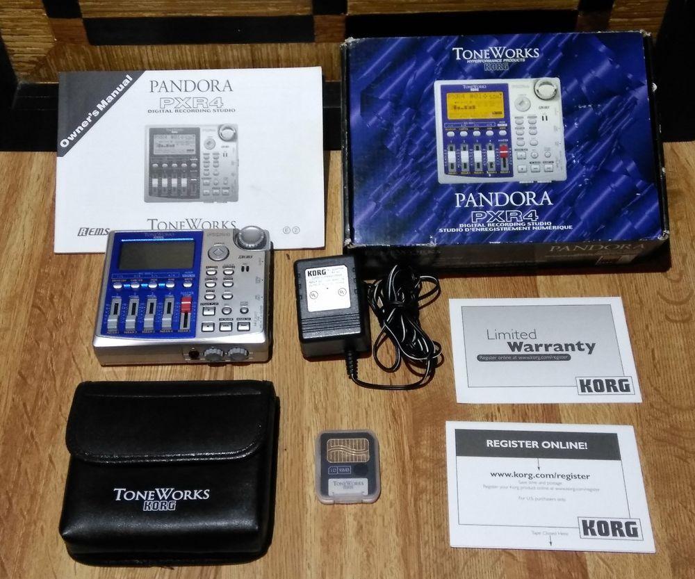 Korg toneworks pxr4 4 track recorder | reverb.