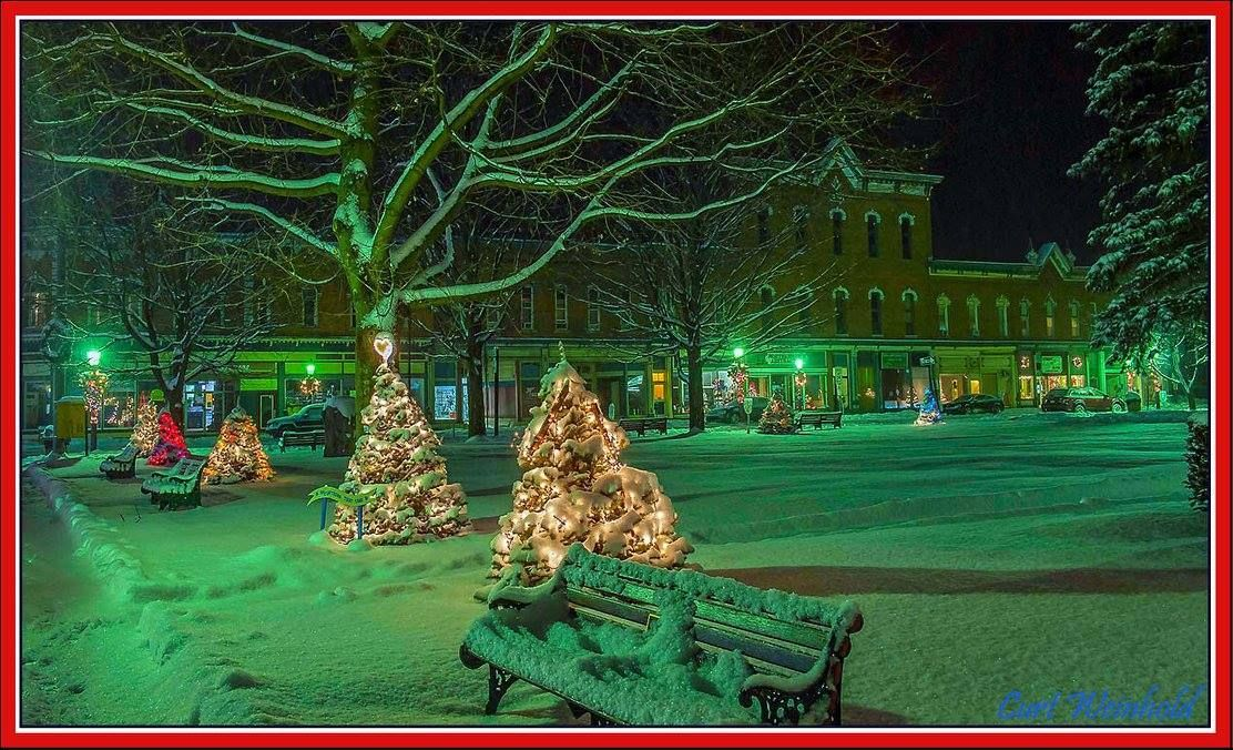 Swell Christmas Trees Line The Courthouse Square In Coudersport Download Free Architecture Designs Rallybritishbridgeorg