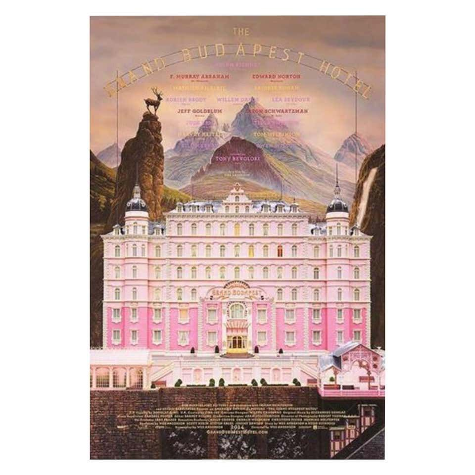 Grand Budapest Hotel The 2014 Poster For Sale At 1stdibs Grand Budapest Hotel Budapest Hotel Grand Budapest